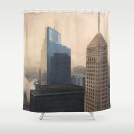 Foshay Tower Shower Curtain