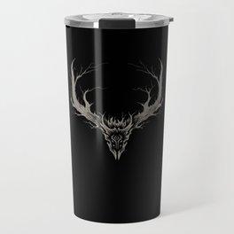 Wild West Dragons Label - Art by Élian Black'Mor Travel Mug