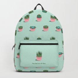 You Had Me at Aloe Backpack