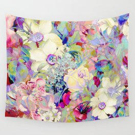 summery floral Wall Tapestry