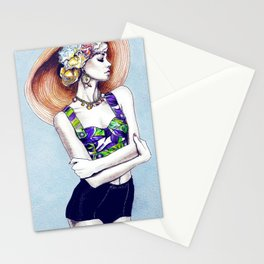 Karlie Kloss in D&G Stationery Cards