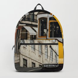 Tram in Lisbon Backpack