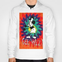 wiz khalifa Hoodies featuring GEE WIZ! by TheFrizzKid