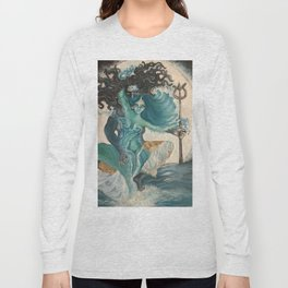 lord shiva and parvati Long Sleeve T-shirt