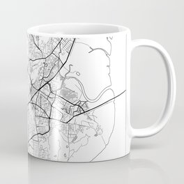 Mumbai Map White Coffee Mug