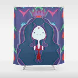 Blood Rush Shower Curtain