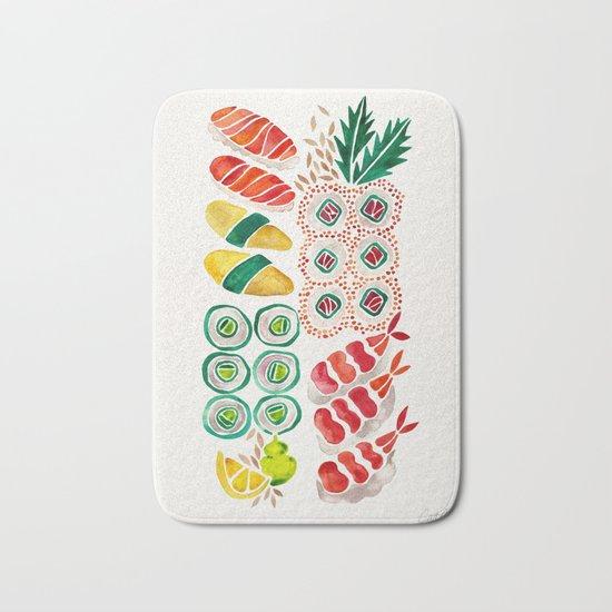 Sushi Collection Bath Mat