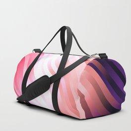 stripes wave pattern 7v2 mag Duffle Bag