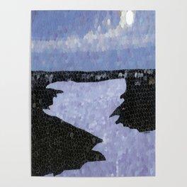 """""""Wolf Lake"""" Poster"""