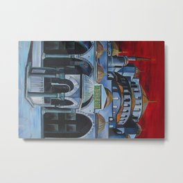 Sultan Ahmed Mosque, Istanbul  Metal Print