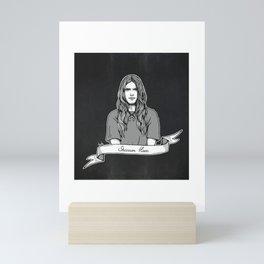 Shannon Hoon (Grunge Collection) Mini Art Print