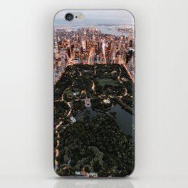New York City Skyline and Central Park iPhone Skin