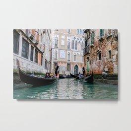 Gondola Ride Venice Italy Metal Print