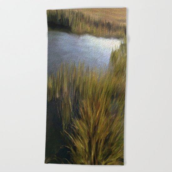 Hidden Lagoon Beach Towel