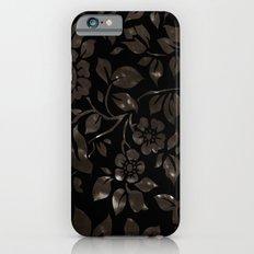 floral grunge iPhone 6 Slim Case