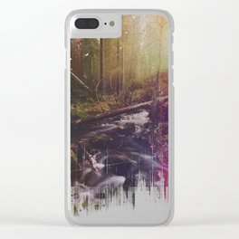 As she transforms Clear iPhone Case