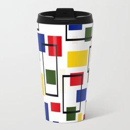 Bauhaus-esque Mid Century Modern 5 Travel Mug