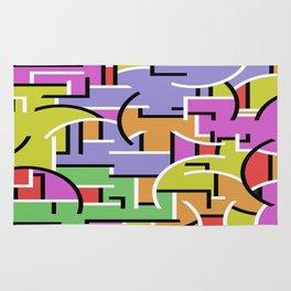 Segregation Of Colour Rug