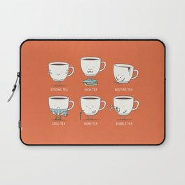 Types of tea Laptop Sleeve