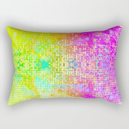 BATHROOM STRUCTURE GRADIENT Rectangular Pillow