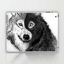 Ying Yang Wolf Laptop & iPad Skin