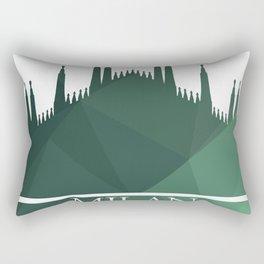 Milan Cathedral Rectangular Pillow