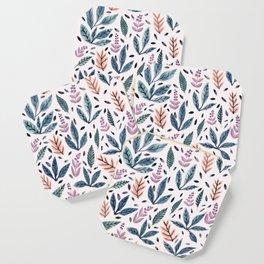 Painted Leaves Coaster