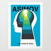 The Caves of Steel Art Print
