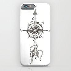 Compass with Arrow (Tattoo stule) Slim Case iPhone 6s