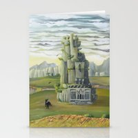 shadow of the colossus Stationery Cards featuring Shadow of the Colossus by mixedlies
