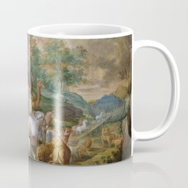 Noah and the ark - II Entree de Noe dans lArche vi Coffee Mug