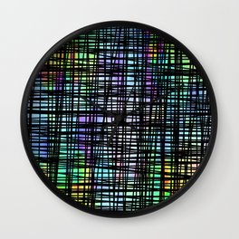 DP035-2 Colorful striped Wall Clock