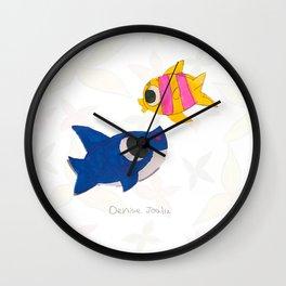 Ocean (Dibujitos de Denise) Wall Clock