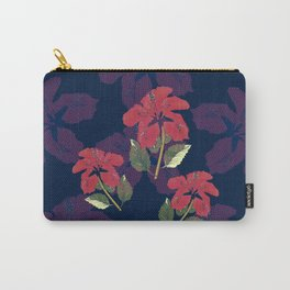 Red halftone hibiscus Carry-All Pouch