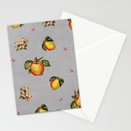 fruit and blossoms Stationery Cards