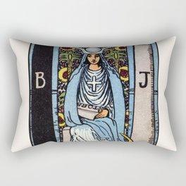 II. The High Priestess Tarot Card Rectangular Pillow