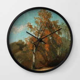 "John Constable ""Study of an Ash Tree"" Wall Clock"