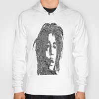 marley Hoodies featuring Marley by Travis Poston