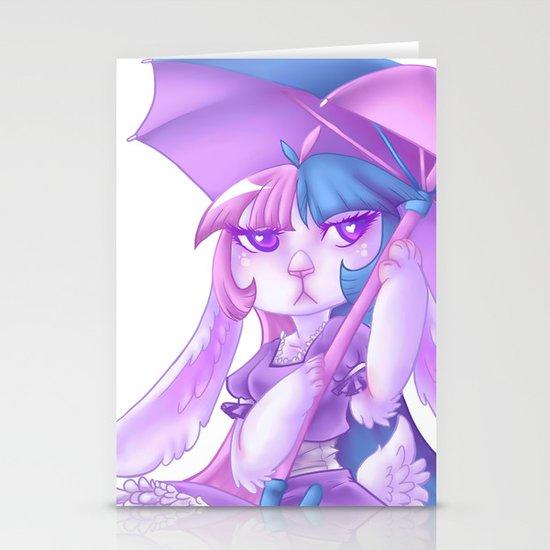 Pastel Bunny Stationery Cards