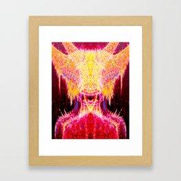 Flesh Junky Framed Art Print