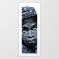 tyler the creator Art Prints featuring Tyler the Creator  by tumbleweedbreeze