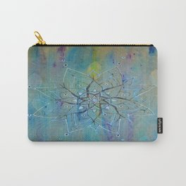 Pyrographic Mandala Carry-All Pouch