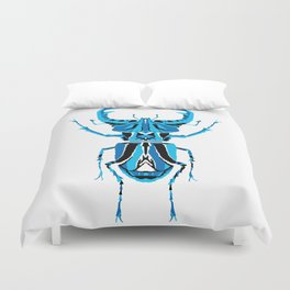 Stag Beetle _ Psychedelic bug 3.2 _ Besouro Independente Duvet Cover