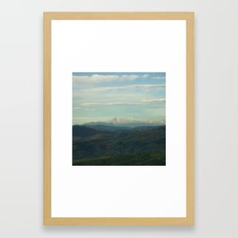 Into The Distance Framed Art Print