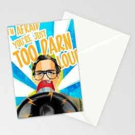 Back to the Future - Too Darn Loud Stationery Cards