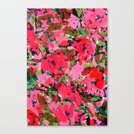 Wild Rose Garden Canvas Print