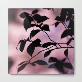 Spring Silhouette Metal Print