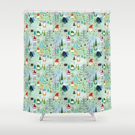 Love You Gnome Matter What Shower Curtain