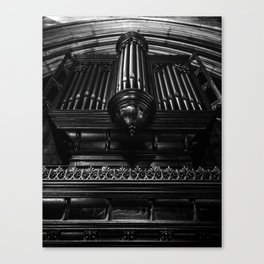 Trinity Church Pipe Organ Canvas Print