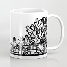 Chai and Cacti II Coffee Mug